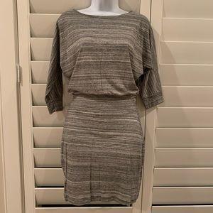 EXPRESS Dress, Size XS, Black/White Stripe